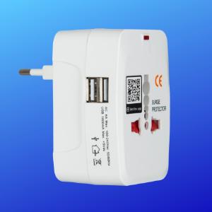 Grayhats WiFi Smart Plug 6A With 2 USB Ports